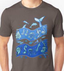 Ocean's Symphony Unisex T-Shirt