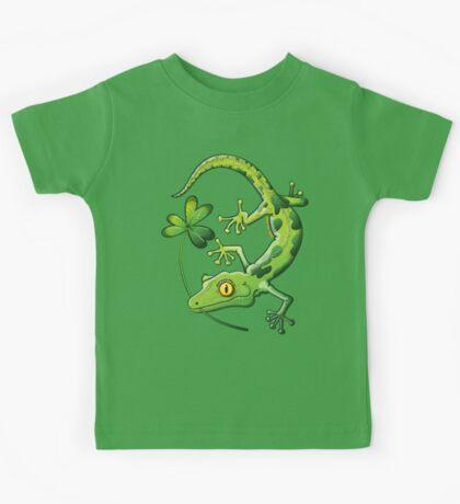 Saint Patrick's Day Gecko Kids Clothes