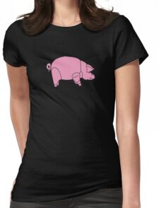 David Gilmour - Pink Floyd Womens Fitted T-Shirt