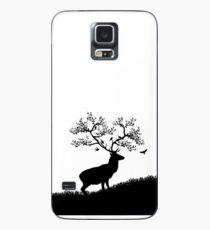 Silent Stag - White Hülle & Klebefolie für Samsung Galaxy