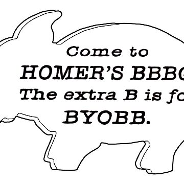 The Simpsons - Homer's BBBQ by juryduty
