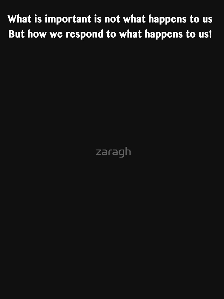 Awesome Quote by zaragh