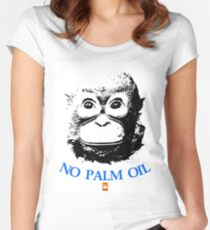 NO PALM OIL   larger image Women's Fitted Scoop T-Shirt