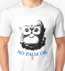 NO PALM OIL   larger image Unisex T-Shirt