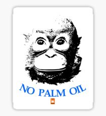 NO PALM OIL   larger image Sticker