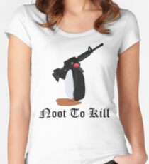 Noot To Kill Women's Fitted Scoop T-Shirt