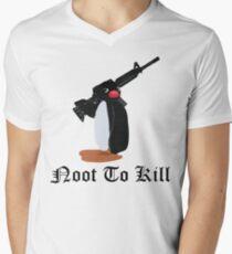 Noot To Kill Men's V-Neck T-Shirt