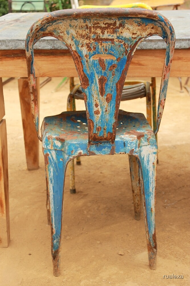 Blue Rusty Chair by rualexa