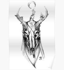 Demon Deer Poster