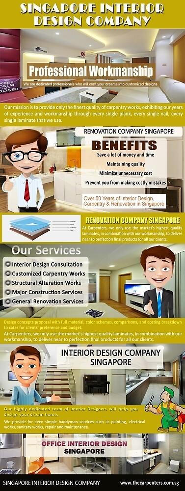 Renovation Company Singapore by Interior Design Singapore HDB Flat