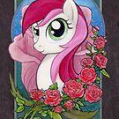 Rose Portrait by EchoesLight
