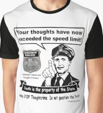 Thought Police Graphic T-Shirt