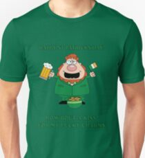St Patricks Day- Kiss my lucky charms Unisex T-Shirt