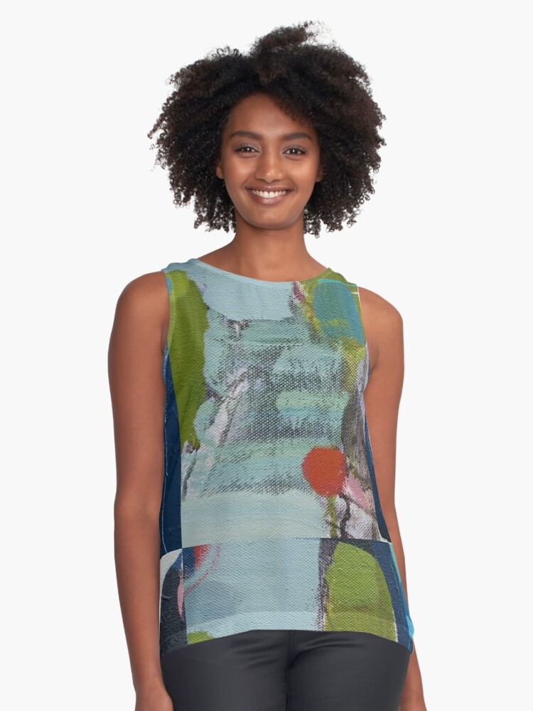 Meander Series Contrast Tank Front