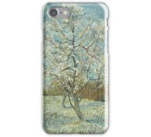 Vincent Van Gogh - The Pink Peach Tree. Garden landscape: garden view, trees and flowers, blossom, nature, botanical park, floral flora, wonderful flowers, plants, cute plant, garden, flower iPhone Case/Skin