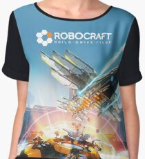 Robocraft Eagle and Wraith Women's Chiffon Top