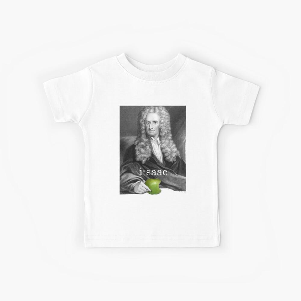 i-saac Newton Camiseta para niños