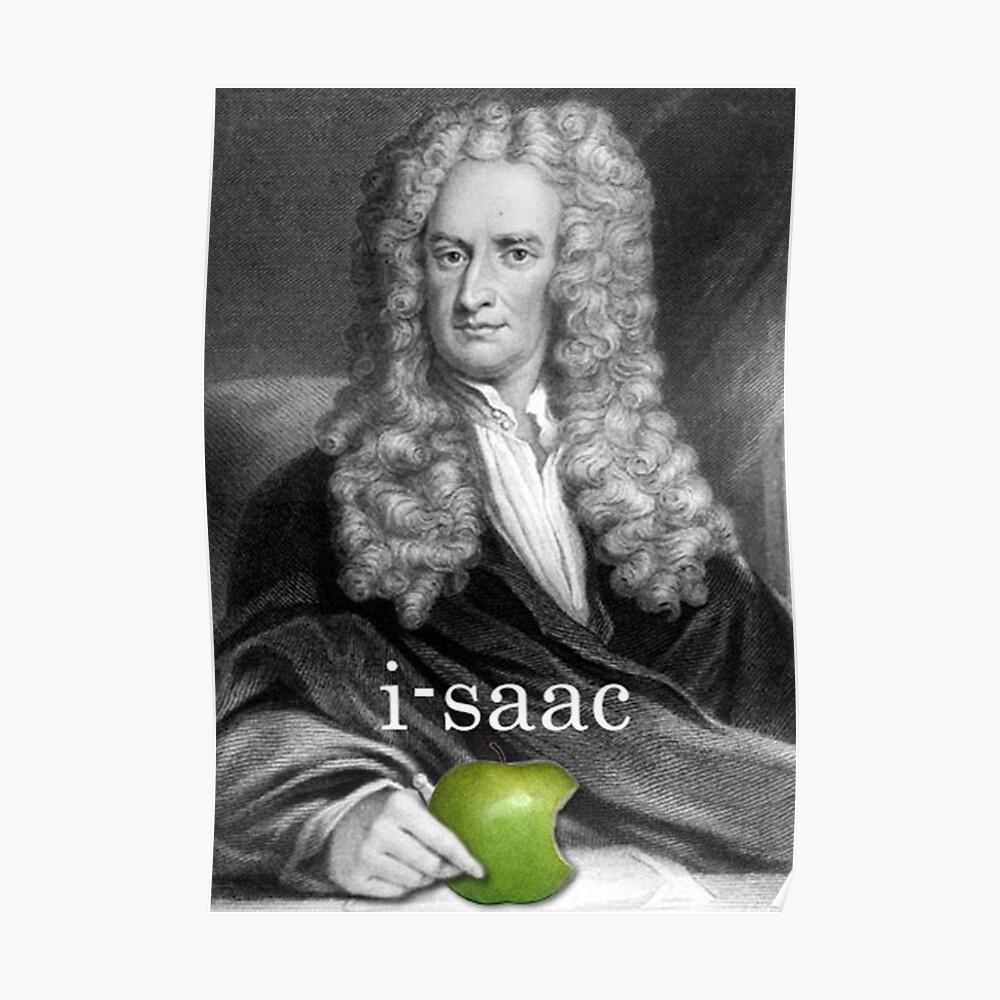 i-saac Newton Póster