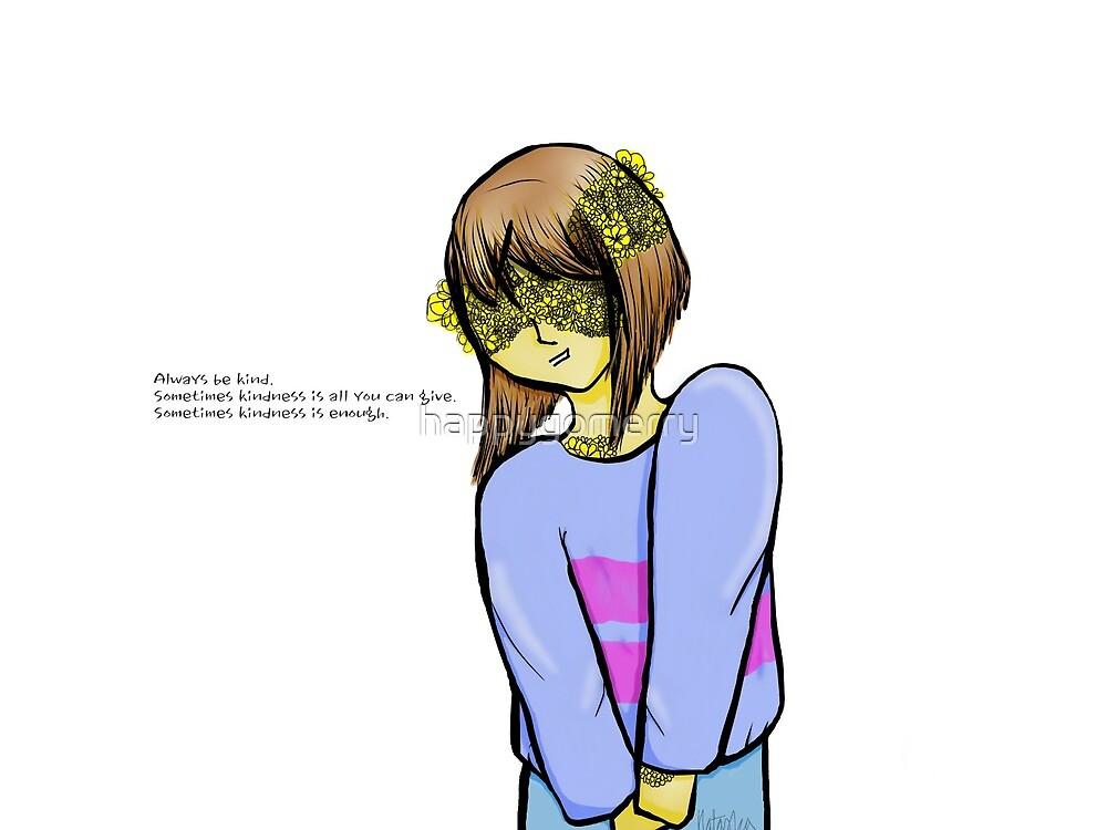 Flowerfell Frisk by happygomerry