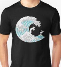 Psychodelic Kunagawa Surfer Cat T-Shirt