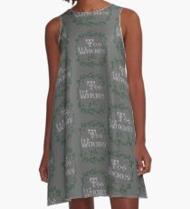 Too Witches (grey) A-Line Dress