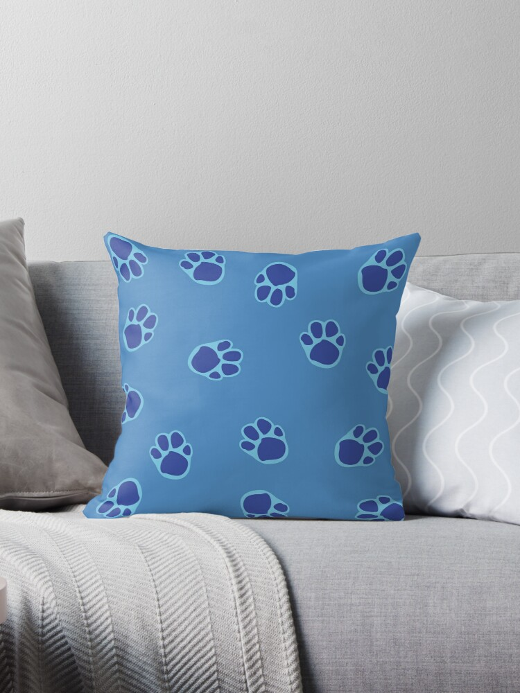 Blue's Paw Print Pattern 3 by rivermill