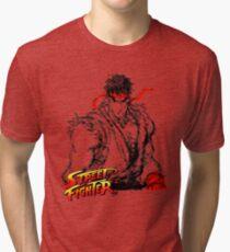 Streetfighter - Ryu Tri-blend T-Shirt