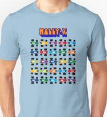 RALLY-X CLASSIC ARCADE GAME Unisex T-Shirt