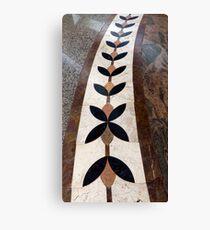 Artful Tile Floor Canvas Print