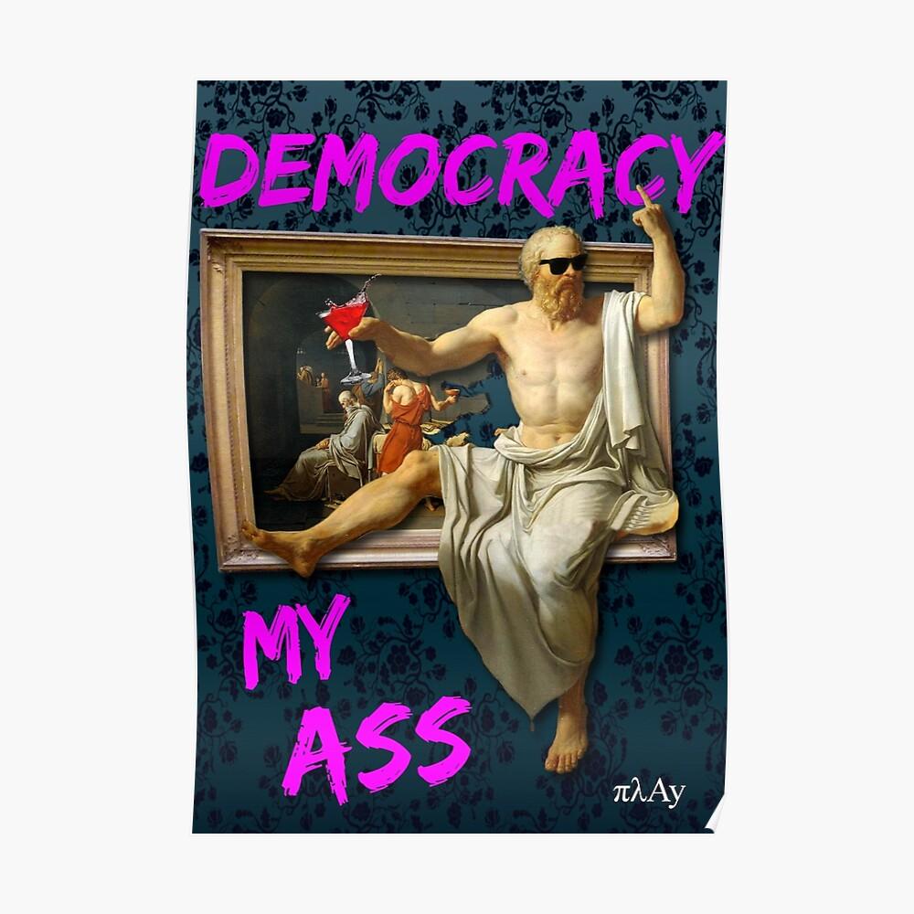 Der Tod (?) Von Sokrates Poster