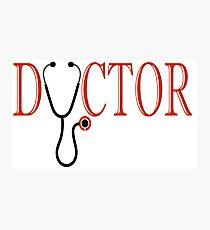 Doctor Photographic Print
