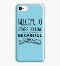 Welcome to Stars Hollow iPhone Case/Skin