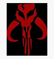 Mandalorian Emblem Photographic Print