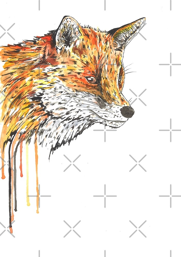 Fox 2 by Calum Margetts Illustration
