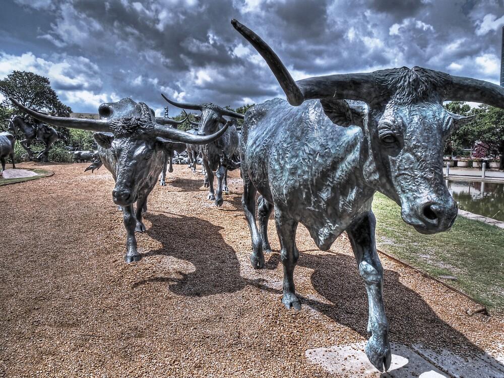 The Cattle Drive  by John  Kapusta