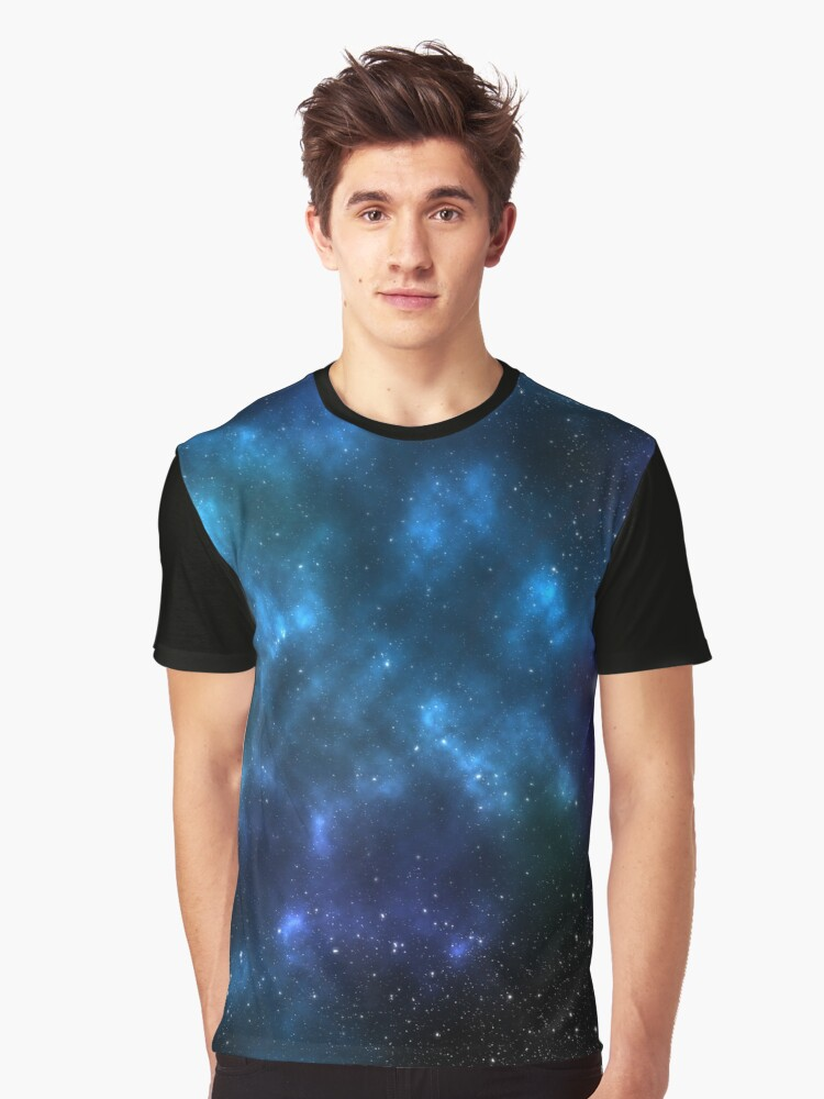space cloud Graphic T-Shirt Front