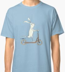 scooter - blue Classic T-Shirt
