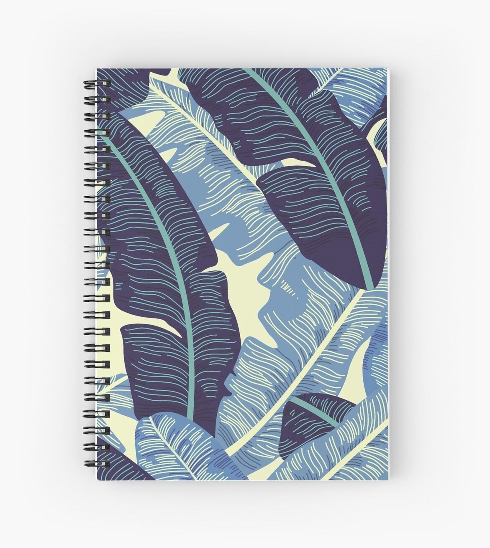 Banana Leaf Pastel Nature Print by Nicholas Giampiccolo
