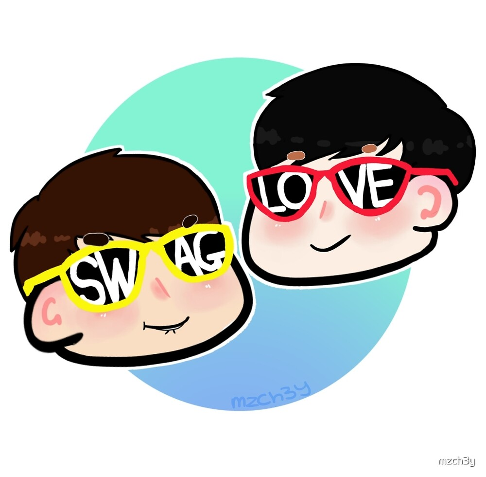 Sunglasses Dan and Phil by mzch3y