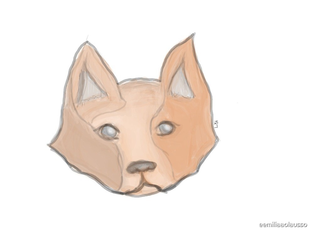 fox or dog? by eemiliaaolausso
