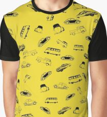 VW Car Medley Graphic T-Shirt