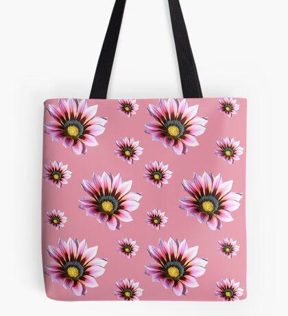 Pink Gazania Tote Bag