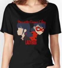 Dual Identities: Marinette and Ladybug Women's Relaxed Fit T-Shirt