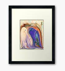 Spiritual Sprouts Framed Print