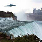Falls Vistors by Keith Reesor