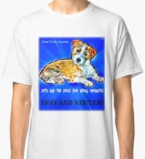 Spay and Neuter Classic T-Shirt