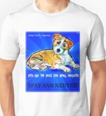 Spay and Neuter Unisex T-Shirt