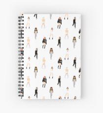 Spiceworld All Over Spiral Notebook