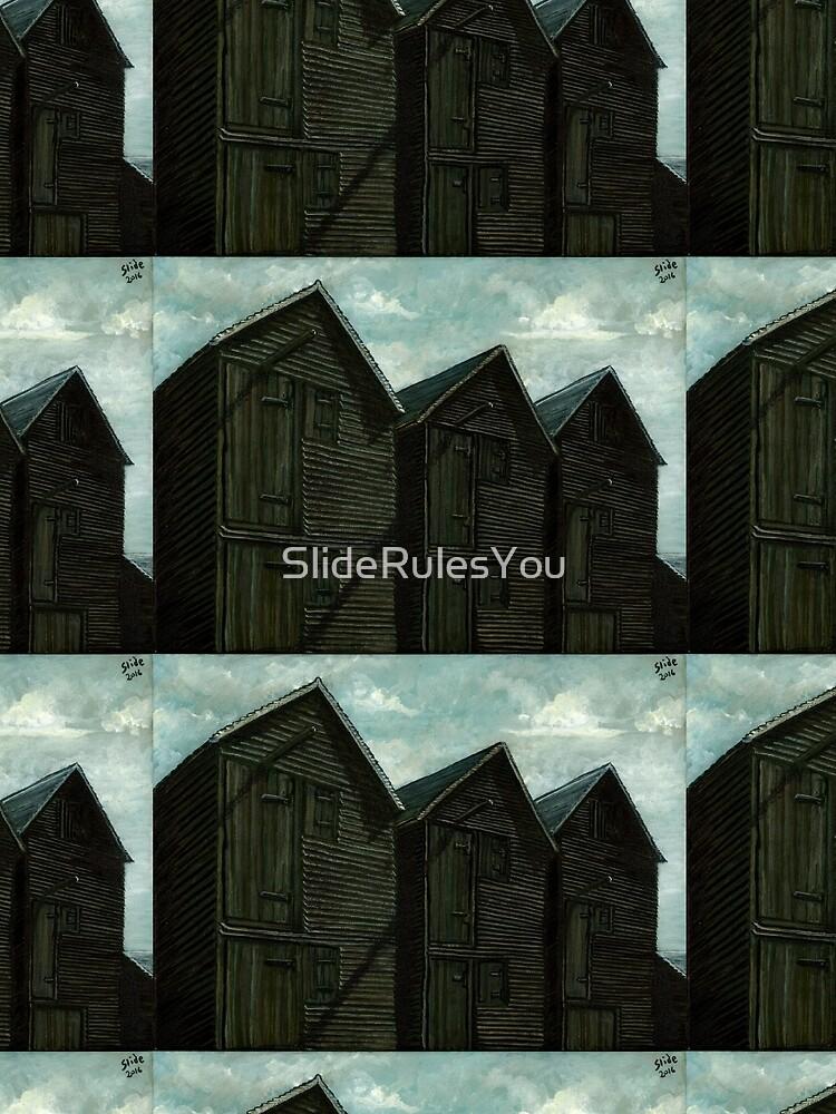 Net Huts in Warm Sunshine by SlideRulesYou