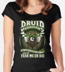 Druid The Guardian Of Nature - Wow Women's Fitted Scoop T-Shirt